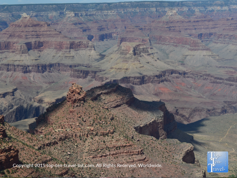 Great views from the Lookout Studio overlook at the Grand Canyon South Rim