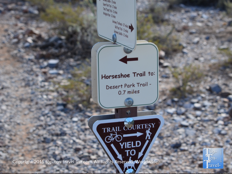 The Gateway Trailhead at the McDowell Sonoran Preserve in Scottsdale, Arizona