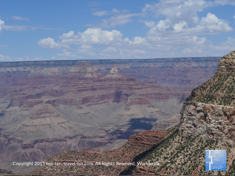 Beautiful views from Lookout Studio at the Grand Canyon South Rim