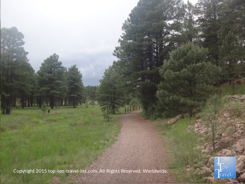 Gorgeous views along the FUTS at Fort Tuthill County Park in Flagstaff, Arizona