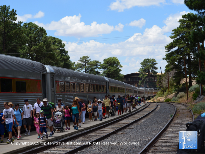 The Grand Canyon Railway Depot