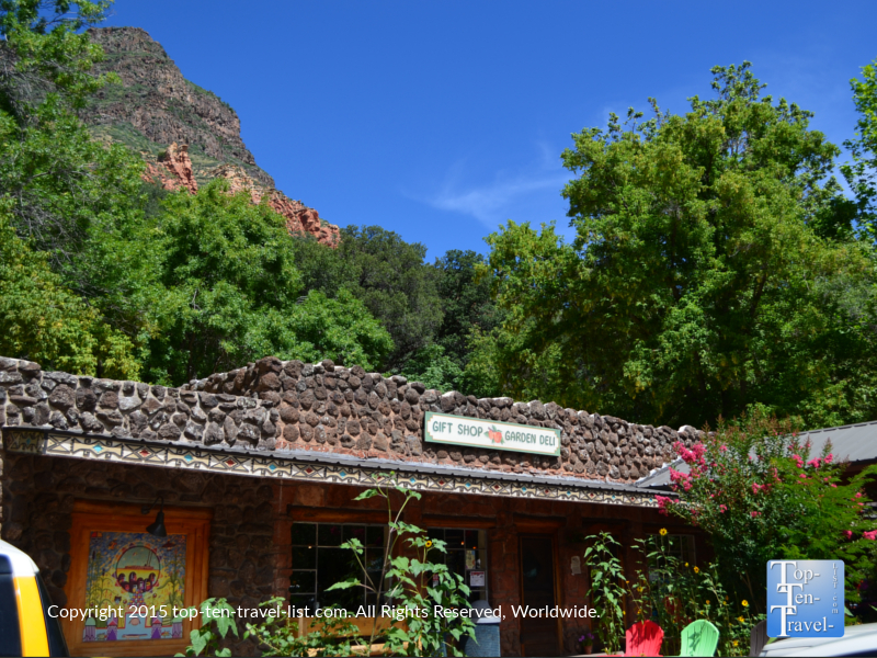 Indian Gardens restaurant in Sedona along Oak Creek Canyon drive