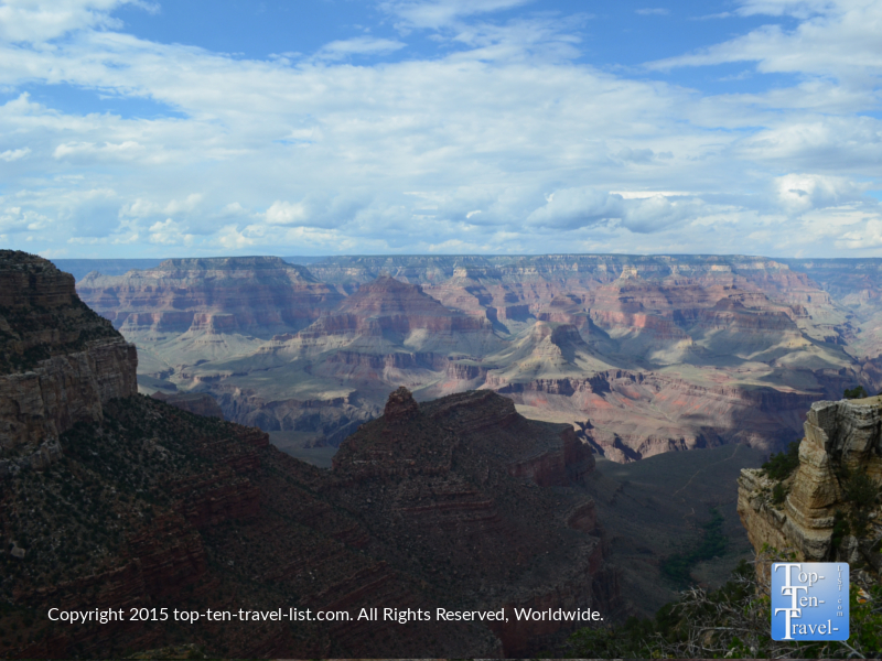 Gorgeous views from Lookout Studio at the Grand Canyon's South Rim