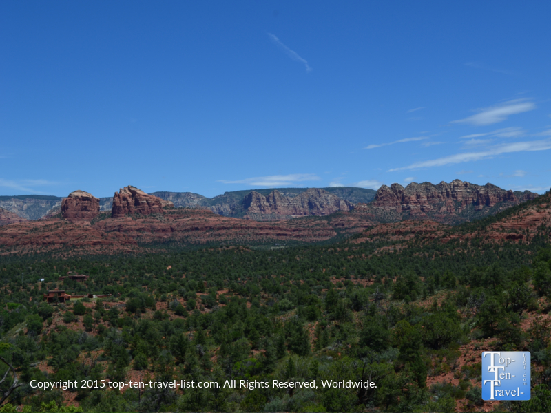 Amazing red rock views and lush greenery at Red Rock State Park in Sedona, Arizona