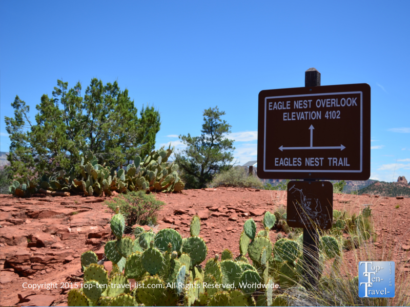 The Eagle's Nest trail at Red Rock State Park in Sedona, Arizona