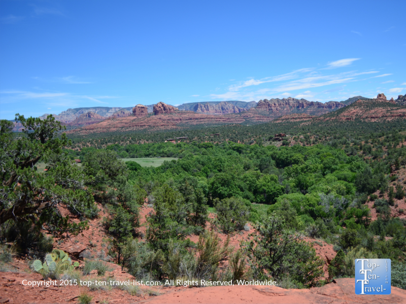 The amazing Eagle's Nest overlook at Red Rock State Park in Sedona, Arizona