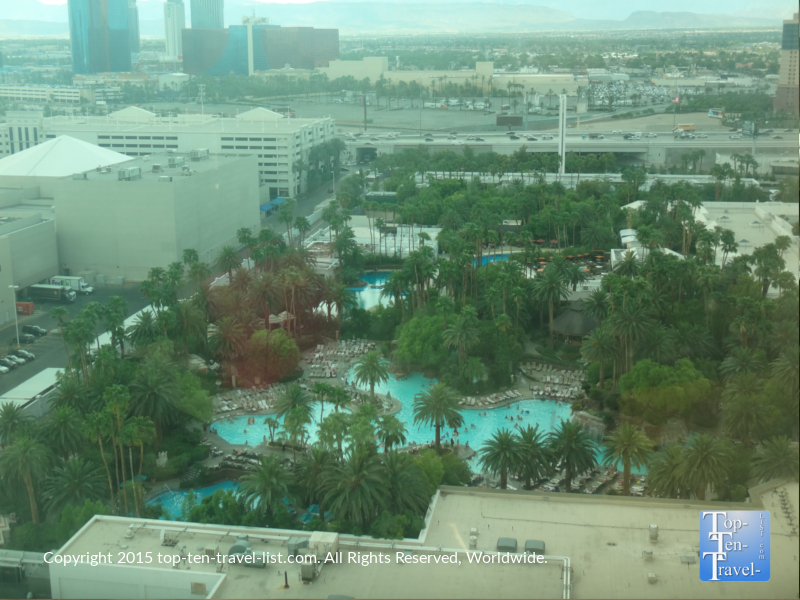 The Mirage pool in Las Vegas, Nevada