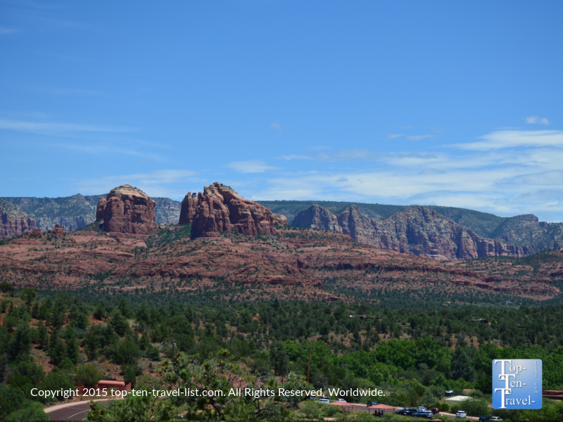 Gorgeous red rock views at Red Rock State Park in Sedona, Arizona