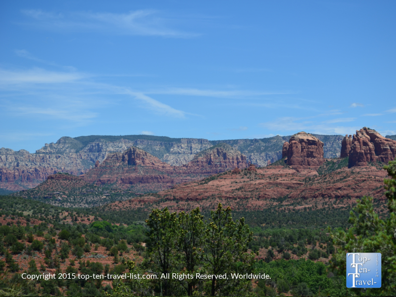 Scenic views along the Eagle's Nest Trail at Red Rock State Park in Sedona, Arizona