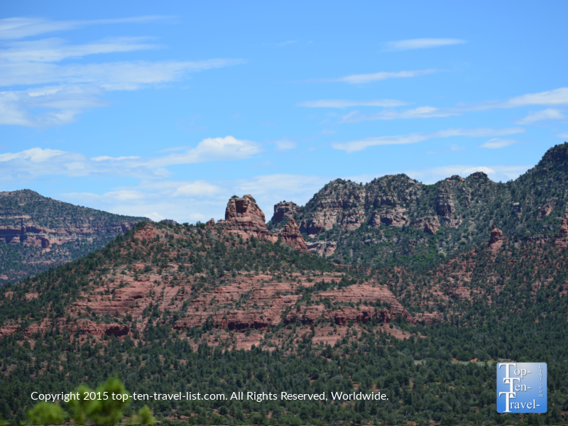Gorgeous red rock views along the Eagle's Nest trail at Red Rock State Park in Sedona, Arizona