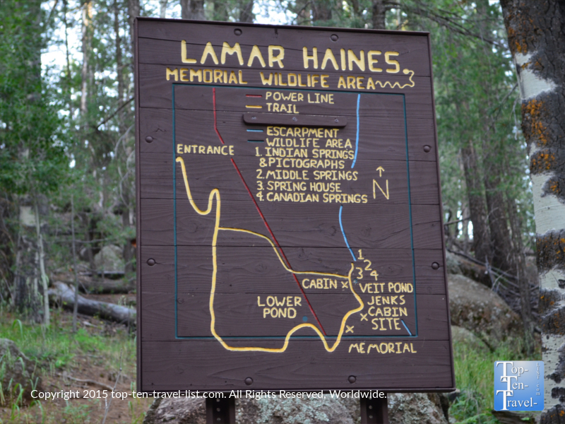 Lamar Haines Wildlife Memorial Area - Veit Springs Loop trail in Flagstaff, Arizona