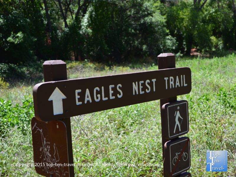 Eagle's Nest Trail at Red Rock State Park in Sedona, Arizona