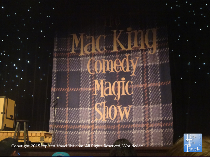 Mac King Comedy show at Harrah's in Las Vegas, Nevada