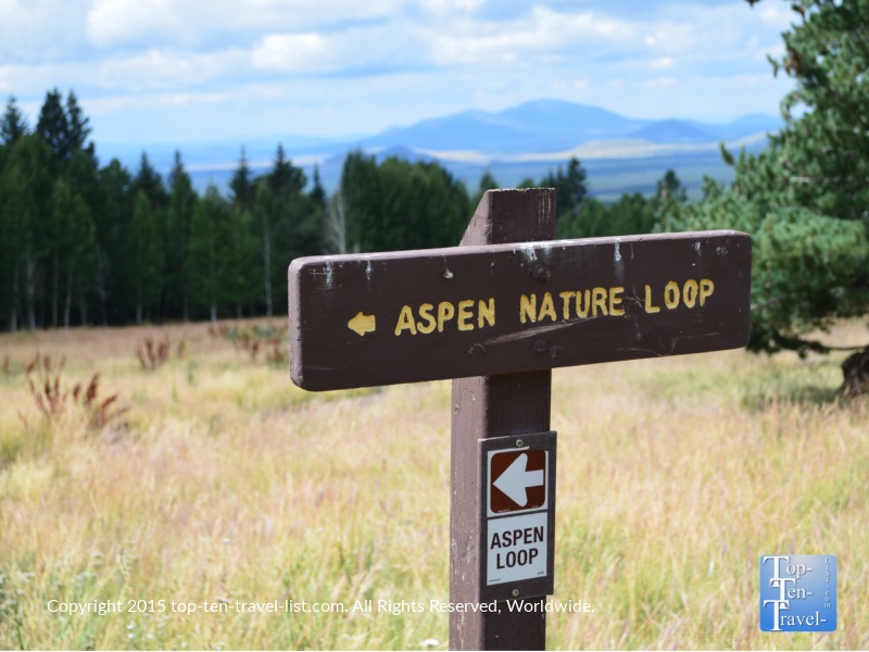 The Aspen Nature Loop in Flagstaff, Arizona