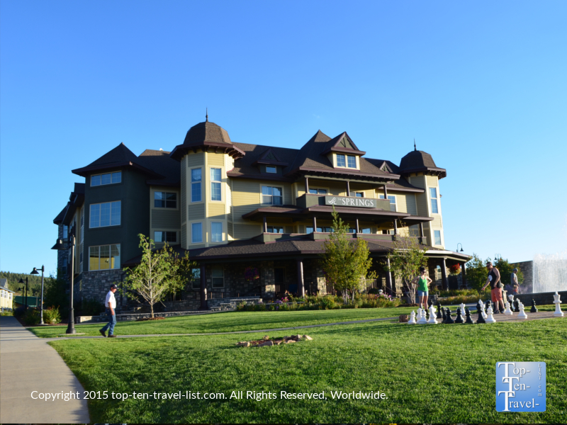 The beautiful Springs Resort and Spa in Pagosa Springs, Colorado