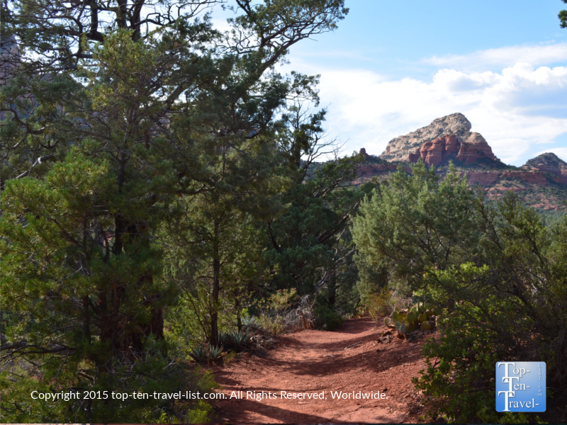 Red Rock Secret Wilderness - Soldier's Pass trail in Sedona, Arizona