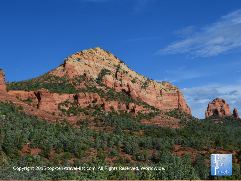 Gorgeous red rock views along the Soldier's Pass trail in Sedona, Arizona