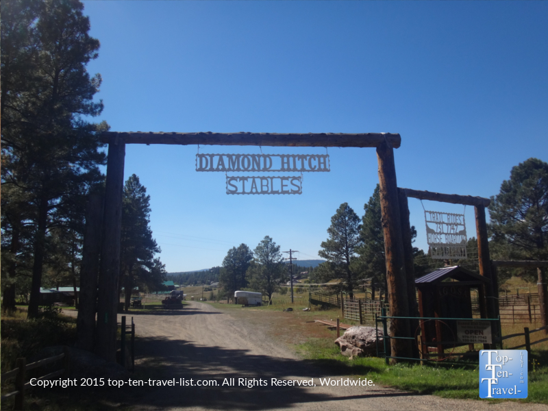 Diamond Hitch Stables in Pagosa Springs, Colorado