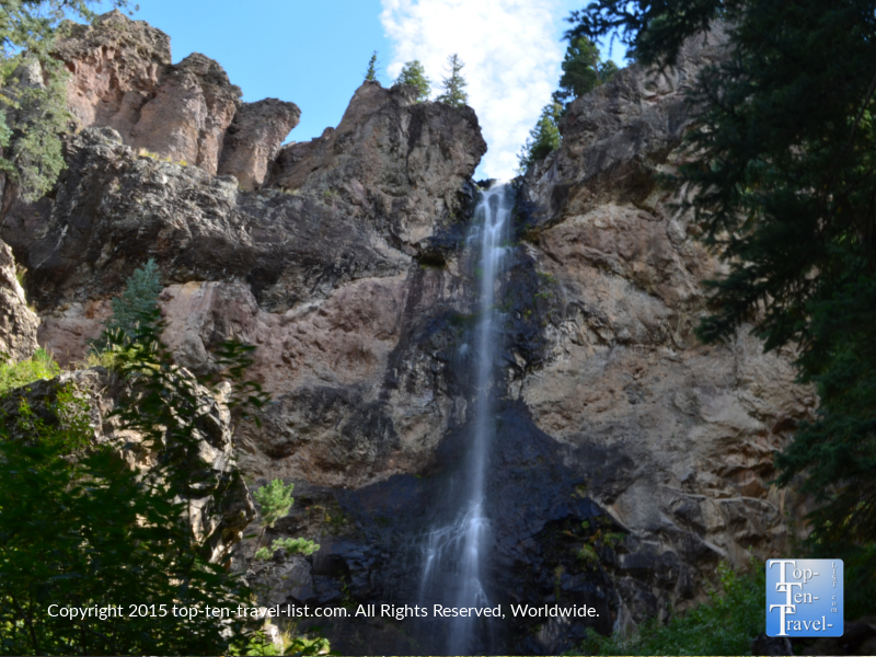 Gorgeous Treasure Falls waterfall hike in Pagosa Springs, Colorado