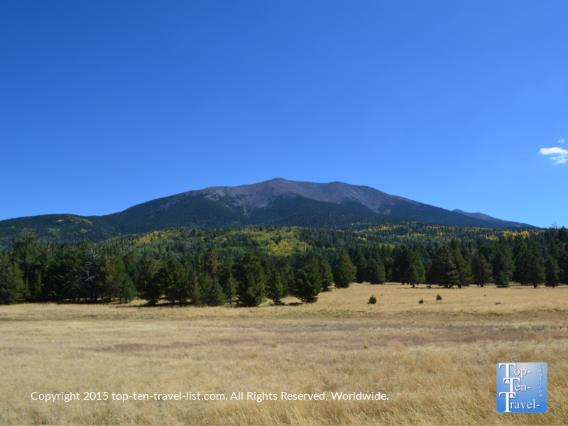 Gorgeous mtn views along the Bismark Lake trail in Flagstaff