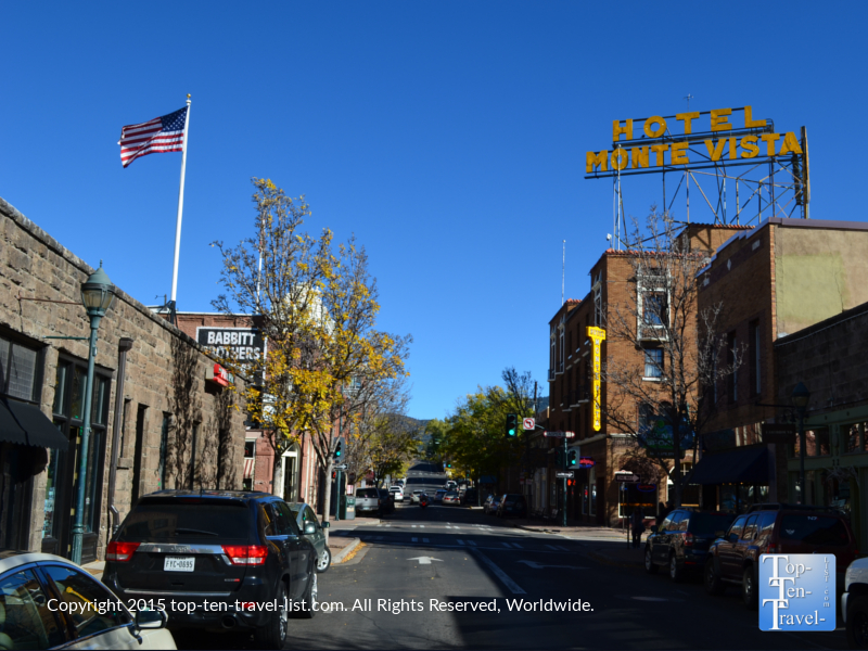 The historic Monte Vista hotel is Flagstaff's most haunted building!