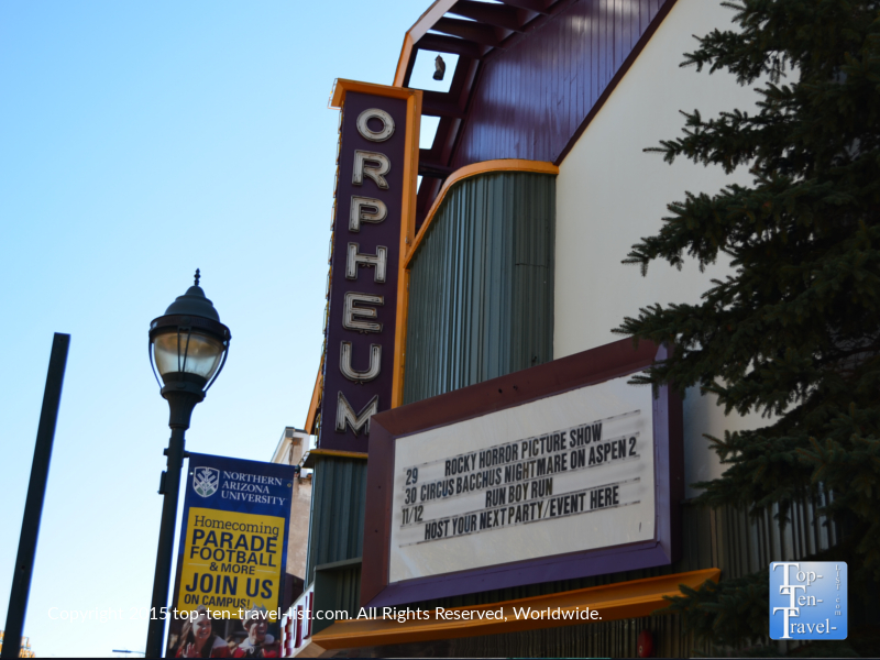 The Orpheum Theater in Flagstaff, Arizona