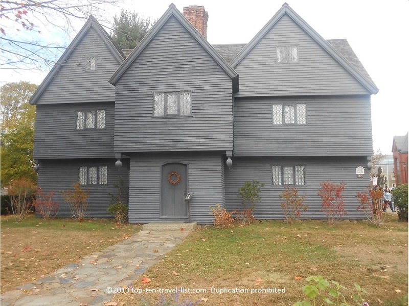The Witch house, the former home of Judge John Corwin, is the only building still standing with ties to the Witch Trials. Weekends in October you can tour the house and listen to ghost stories.