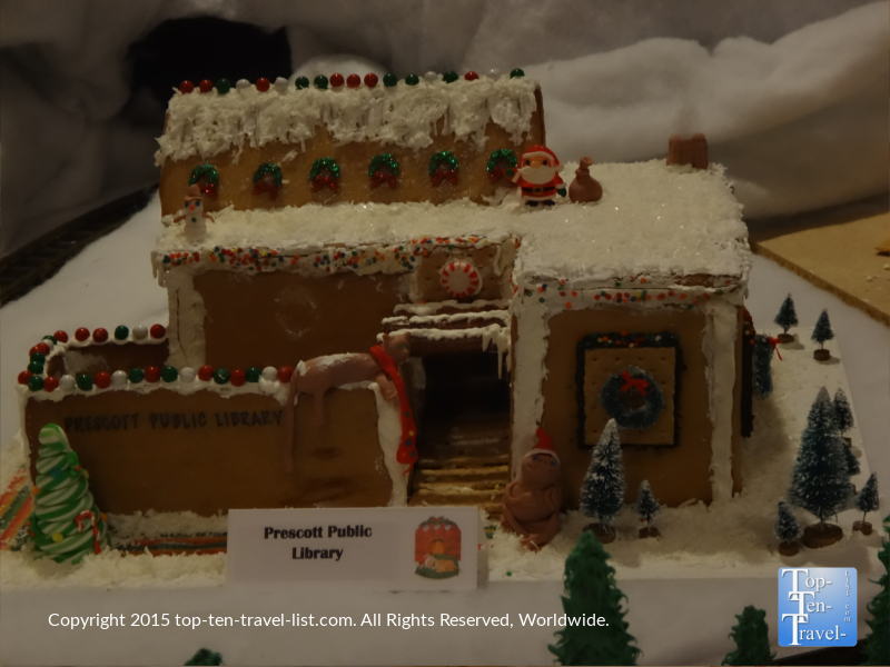 World's Largest Gingerbread Village in Prescott, Arizona