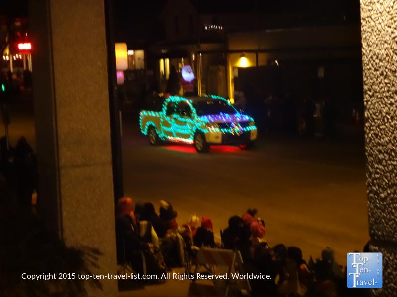 The Holiday Lights Parade in Prescott, Arizona