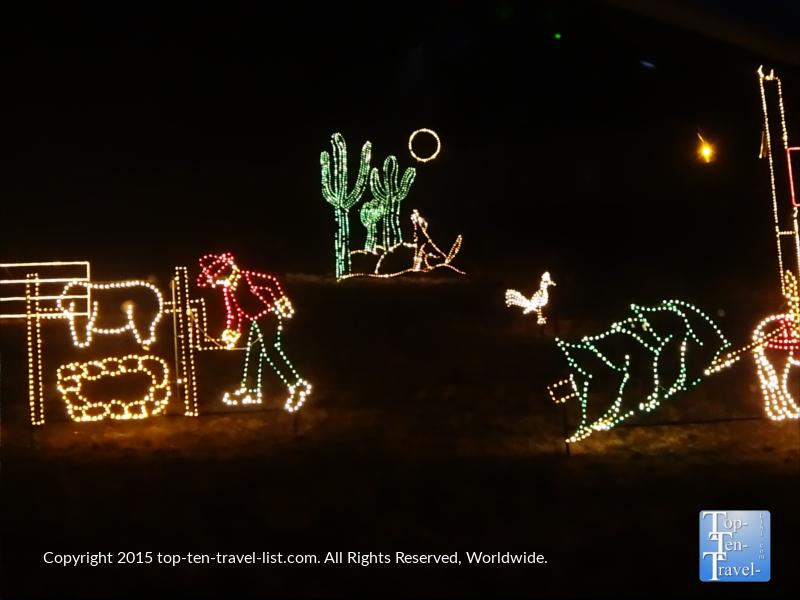 Valley of Lights in Prescott, Arizona