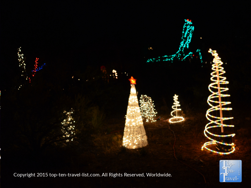 Wild Lights at Prescott's Heritage Park Zoo