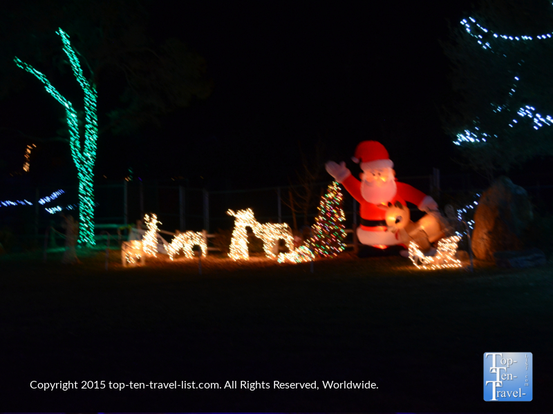 Wild Lights at Prescott's Heritage Park Zoo