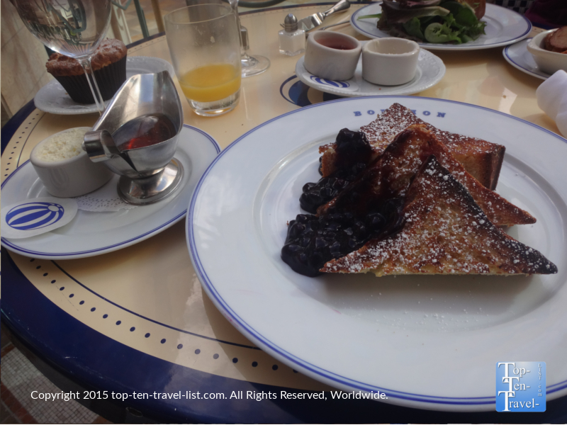 French toast at Bouchon at The Venetian