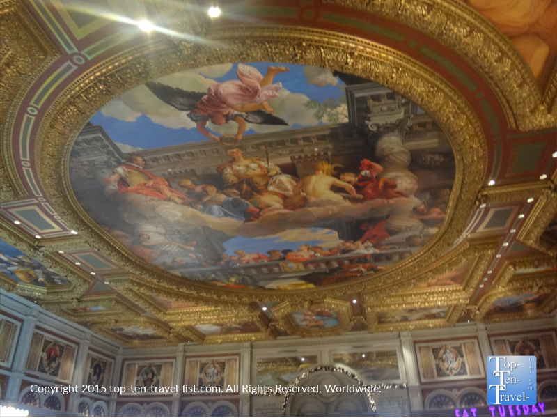Sistine Chapel inspired ceiling at The Venetian in Las Vegas, Nevada
