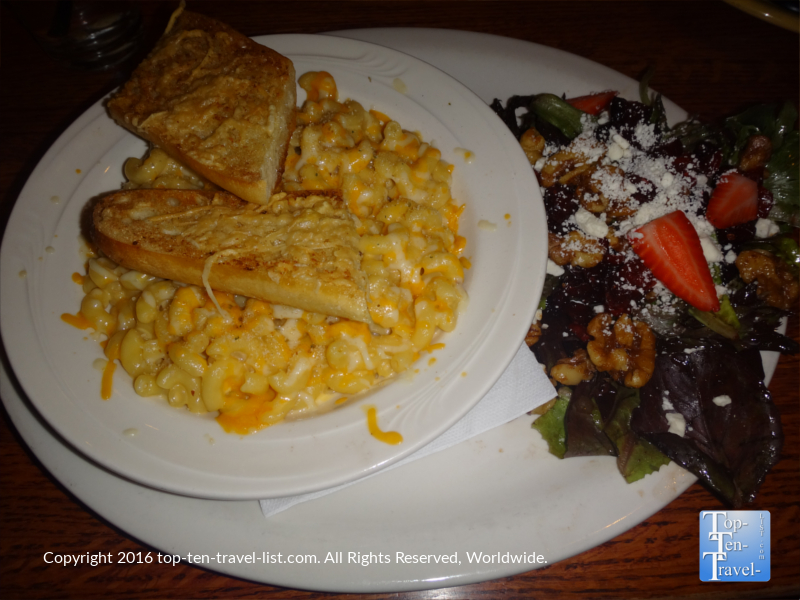 Mac and cheese at Charly's at The Weatherford in Flagstaff AZ