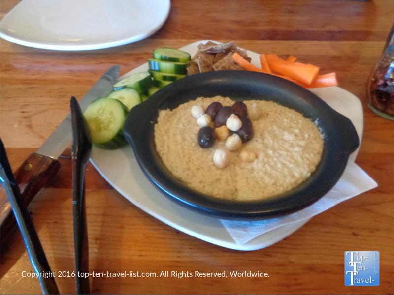 Picazzos Flagstaff hummus appetizer