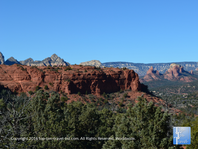 Amazing scenery along the Sedona Broken Arrow Trail