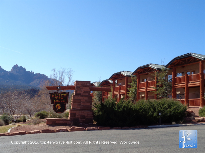 Majestic View Lodge in Springdale Utah - 3 mile from Zion National park