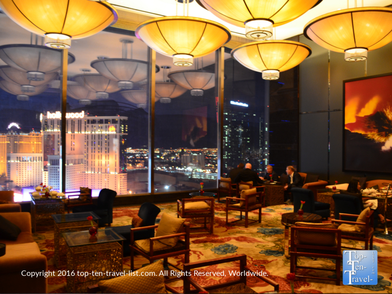 Check out these views from the Mandarin Oriental Tea House!