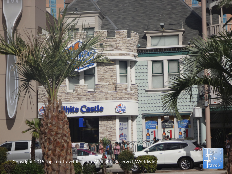 The first White Castle opened on the Strip in early 2015. Being the 1st location out West, the popular fast food joint had to shut down the day after the grand opening to restock!