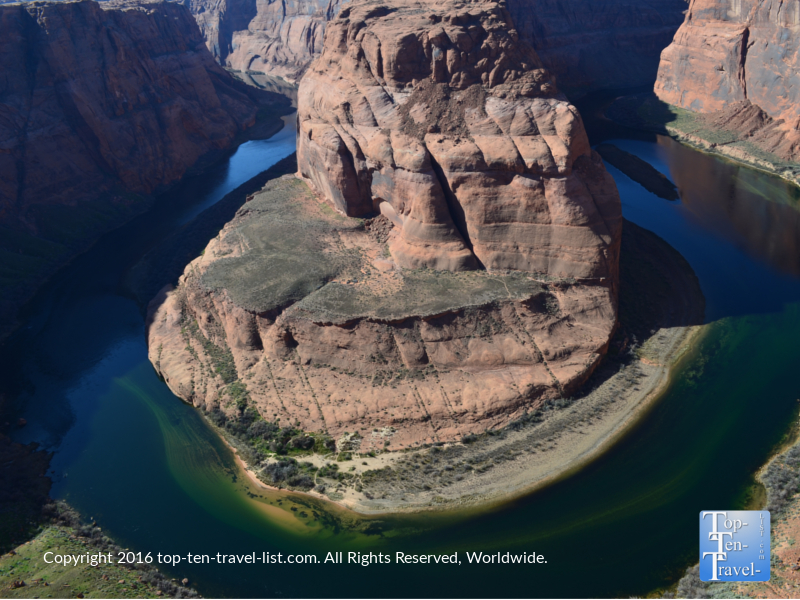 Horseshoe Bend is an amazing natural wonder located in Page, Arizona. About 4 hours from Vegas and 2 hours from Springdale, it's a great side trip to add into any Zion National Park road trip.