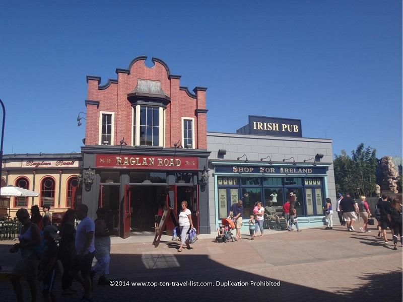 Raglan Road Irish Pub in Downtown Disney in Orlando, Florida