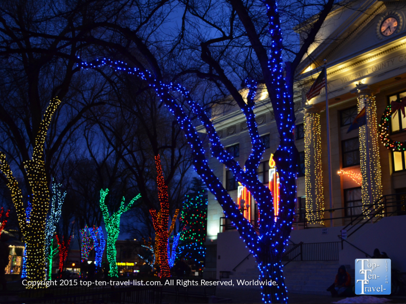 Prescott, Arizona Courthouse Christmas display