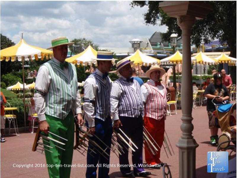 The Citizens of Main Street at Disney's Magic Kingdom in Orlando, Florida