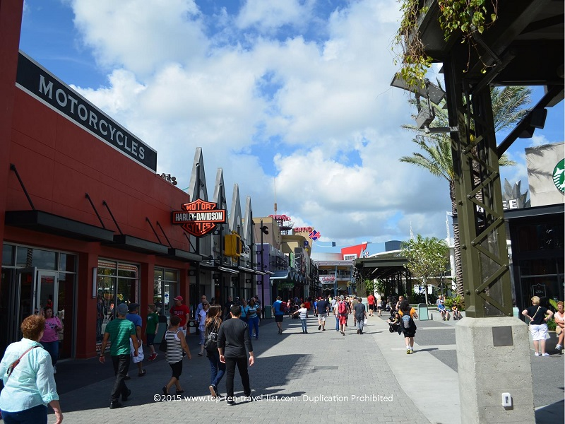 Downtown Disney in Orlando, Florida