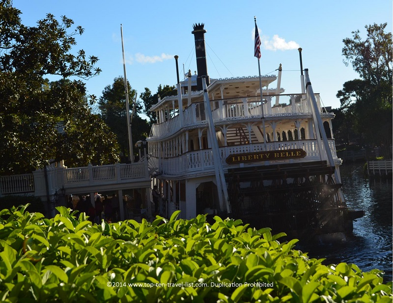Liberty Belle boat ride at Walt Disney World's Magic Kingdom in Orlando, Florida