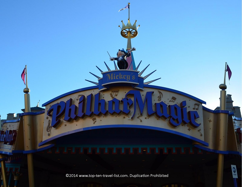 Mickey's Philhar Magic 3D show at the Magic Kingdom - Walt Disney World in Orlando, Florida