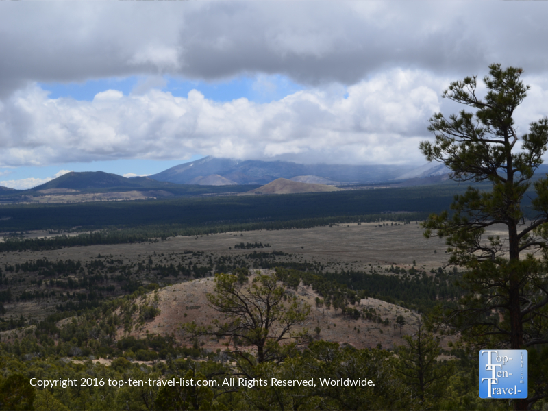 Amazing overlook on the Slate Mountain trail in Flagstaff AZ