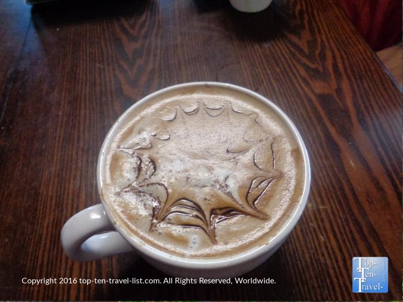 Delicious Endo Mocha at Kickstand Kafe in Flagstaff AZ