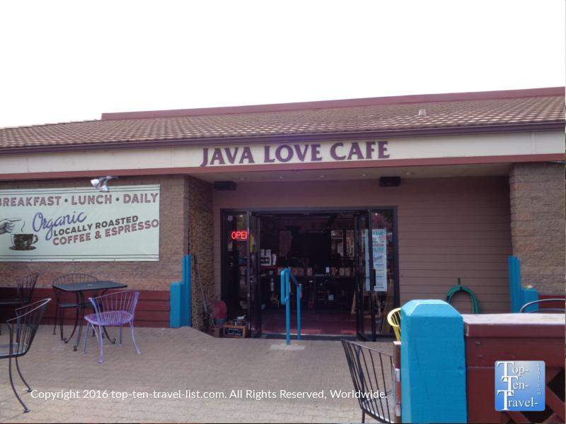 Java Love Cafe in Sedona Arizona